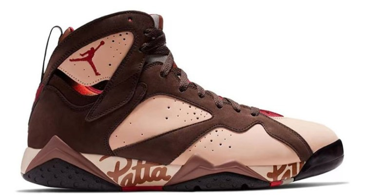 separation shoes f8921 75836 Patta x Air Jordan 7