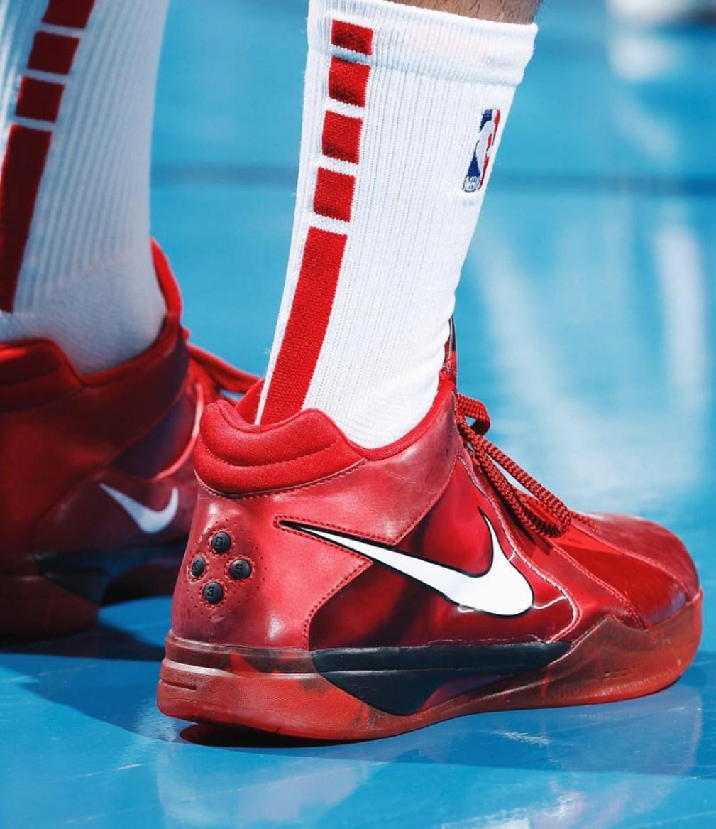"1687142444a96 ... PJ Tucker in the Nike KD III ""All-Star"" (photo via BR Kicks)"