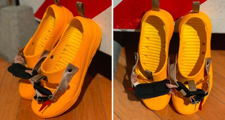 Tom Sachs x Nikecraft Solarsoft Sandal