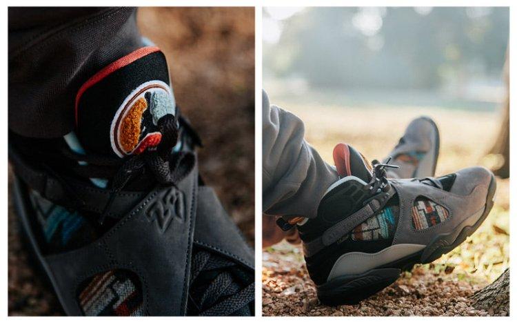 Nike N7 Pendleton Air Jordan 8