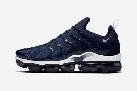 Nike Air Vapormax Plus 'Midnight Navy / Silver'