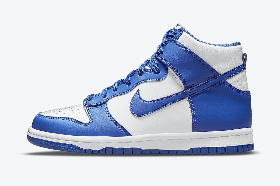 Release Reminder – Nike Dunk High 'Kentucky'