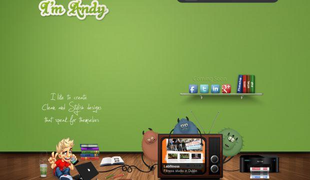 Portfolio of Andy  UI and UX designer  Webdesign inspiration wwwniceoneilikecom