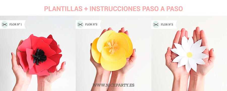 Plantillas De Flores Bules Penantly Co