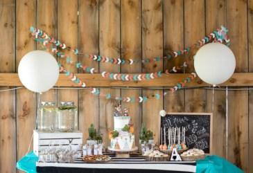 Inspiración: Una mesa de dulces muy salvaje