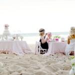 Una «Tea Party» a la orilla del mar