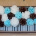 Nice Party: Pompones de papel de seda en una fiesta sorpresa
