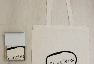 El día de la boda: Bolsas estampadas para regalar