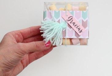DIY cajitas de caramelos para fin de curso