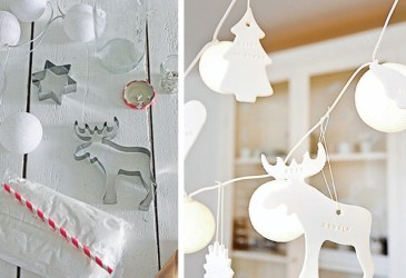Inspiración navidad: Adornos navideños de cerámica