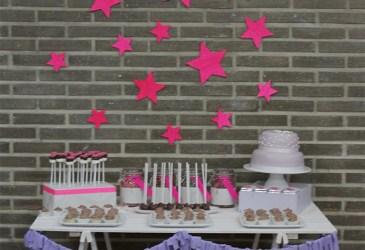 Nice Party: Una comunión con estrellas neón