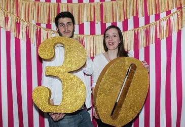 Photocall fiesta 30 cumpleaños