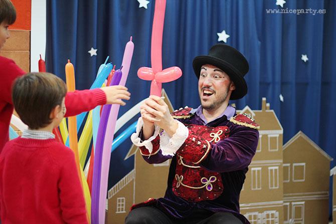 Nice Party: Decoración fiesta de Los Reyes Magos: Decoración con casitas de cartón
