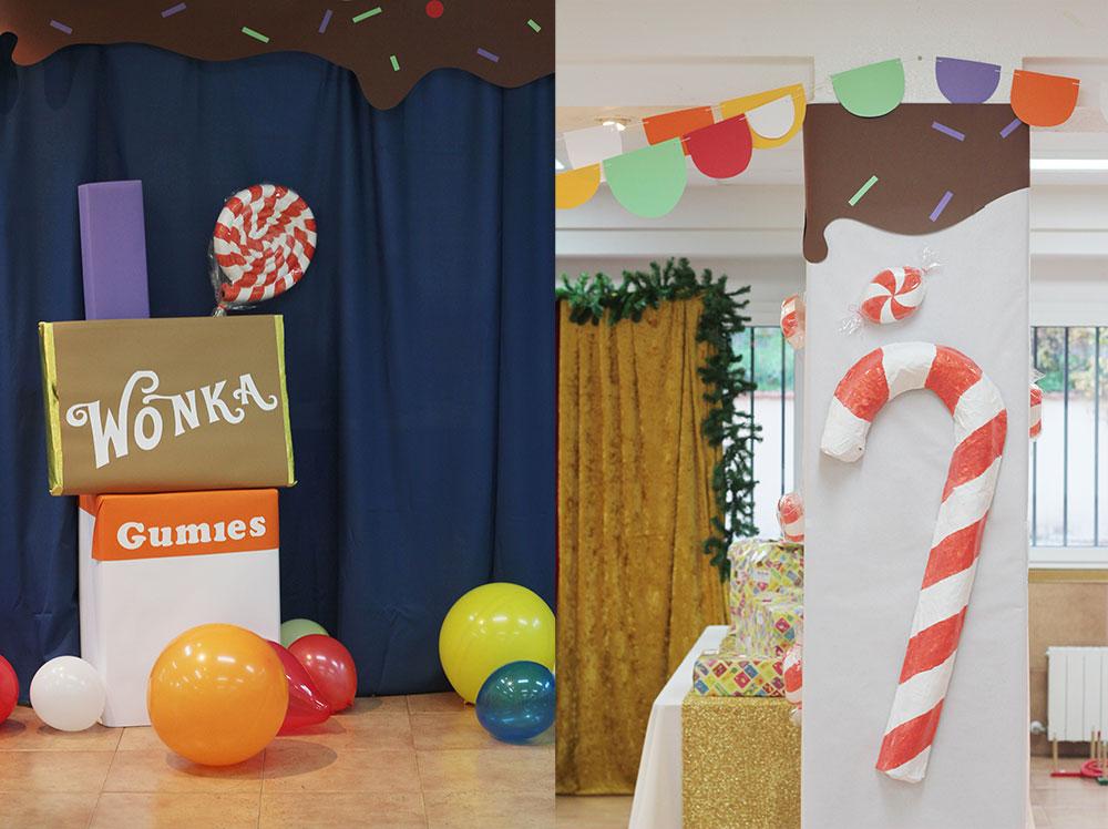 Nice Party fiesta infantil fabrica de caramelos