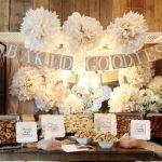Inspiración: Una mesa de cookies de estilo rústico