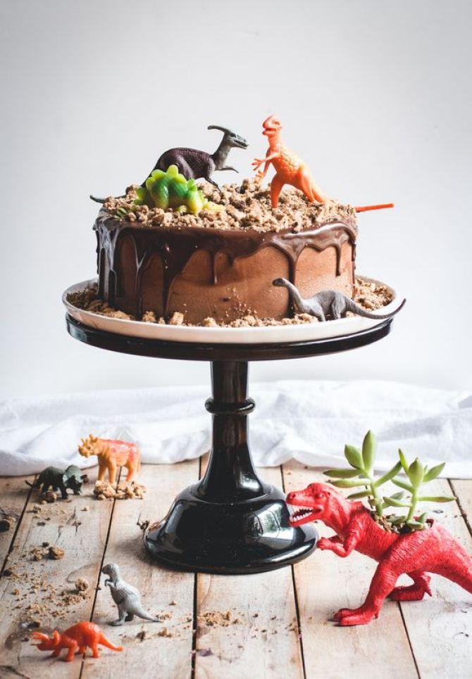 Inspiración cumpleaños de dinosaurios