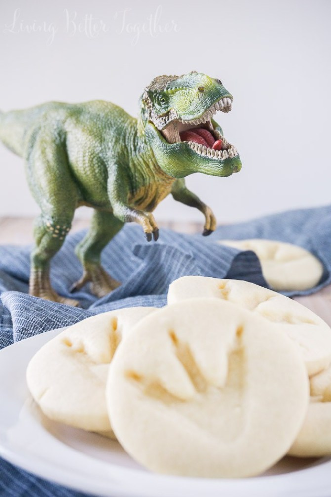 Inspiración galletas dinosaurio fiesta de cumpleaños