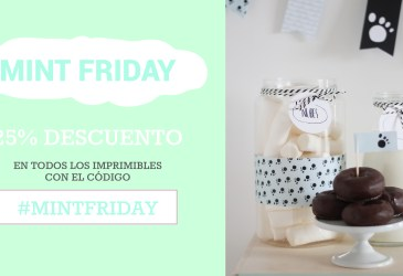 MINT FRIDAY 25% hasta el domingo