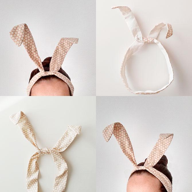 DIY NiceParty orejas de conejo para bebé