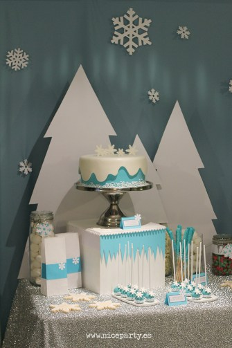 Nice Party fiesta Frozen Mesa de dulces