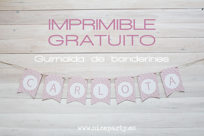Nice Party guirnalda imprimible gratis (3)