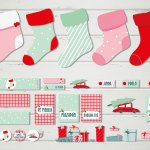 Nuevo kit imprimible Candy Christmas