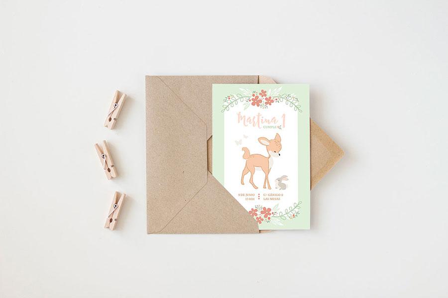 Nuevo Kit Imprimible Ciervo Bambi Niceparty