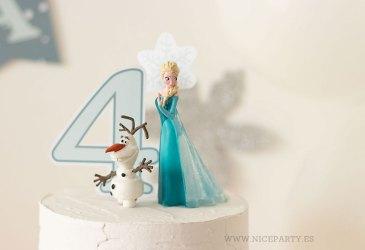 El cumpleaños Frozen de Lucía