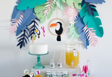 Kit imprimible Tropical Party