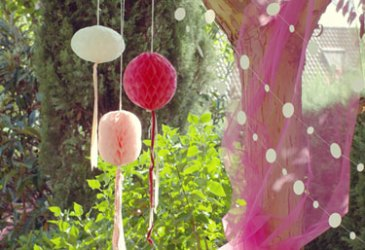 Cumpleaños infantil, fiesta mariposa