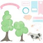 Fiestas para imprimir: Cumpleaños granja