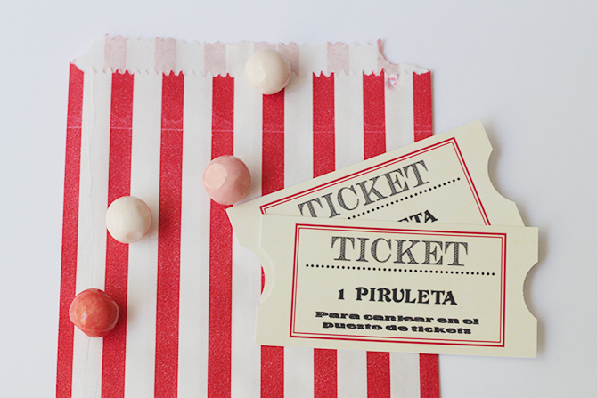 Nice Party Shop tickets feria fiesta de Mary Poppins