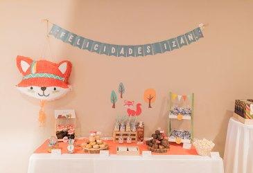 La fiesta de zorritos de Izan