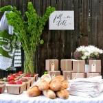 Inspiración: Detalles «frescos» para los invitados