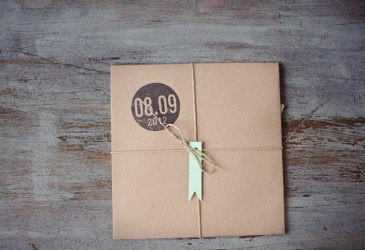 Preparando la boda: Invitaciones plegables