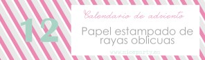 Nice Party papel estampado oblicuo 12