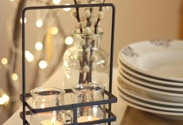 Nice Party: Navidad en blanco y negro (y dorado)
