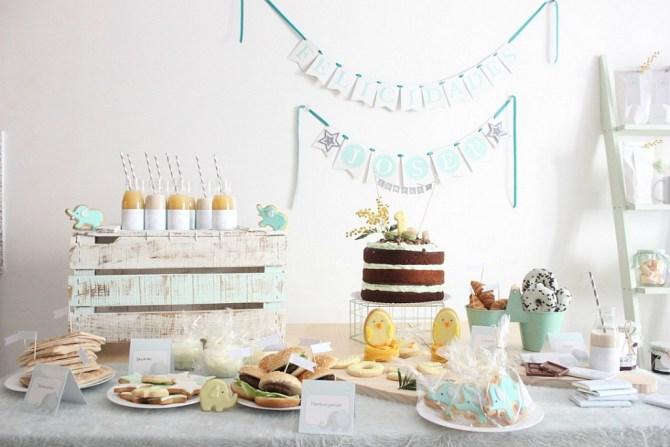 Nice Party en Misión dulzura: El primer cumpleaños de JM