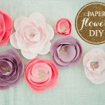 Tutorial: Flores de papel