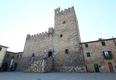 Fortress of Castellina in Chianti (Siena)