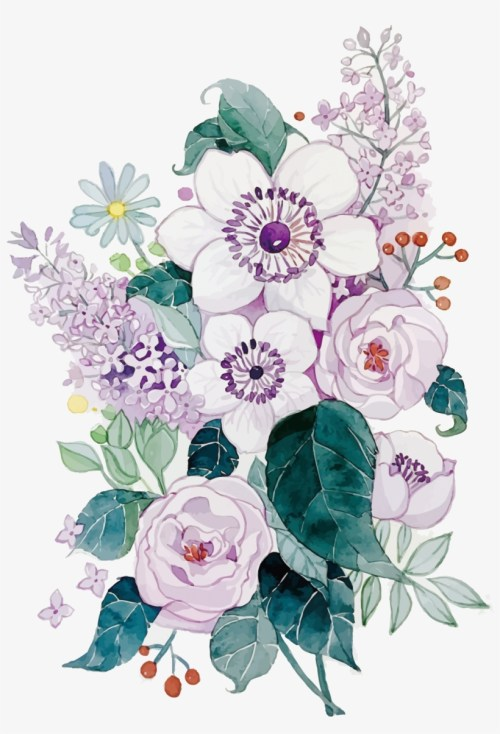 small resolution of clipart royalty free floral design flower painting best watercolor flower png