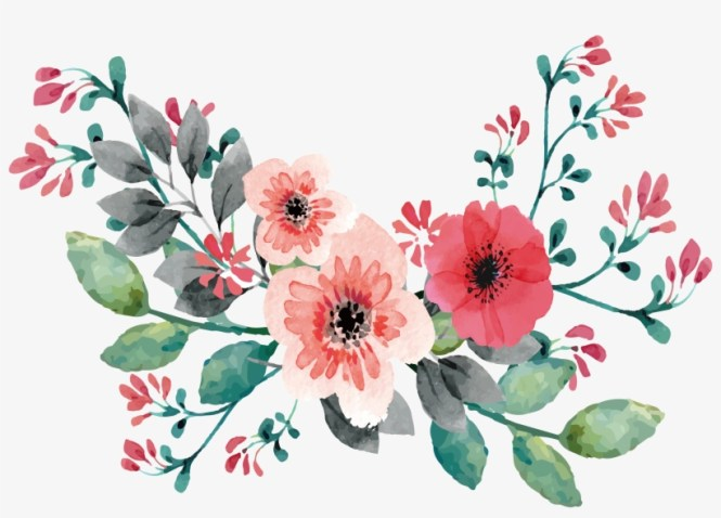 Png Free Wedding Invitation Flower Painting