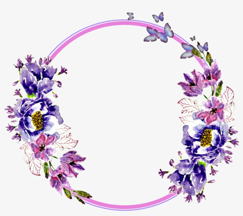 flower circle png flowers