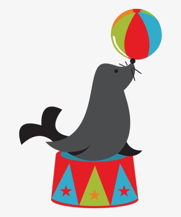 Circus Animals - Clipart