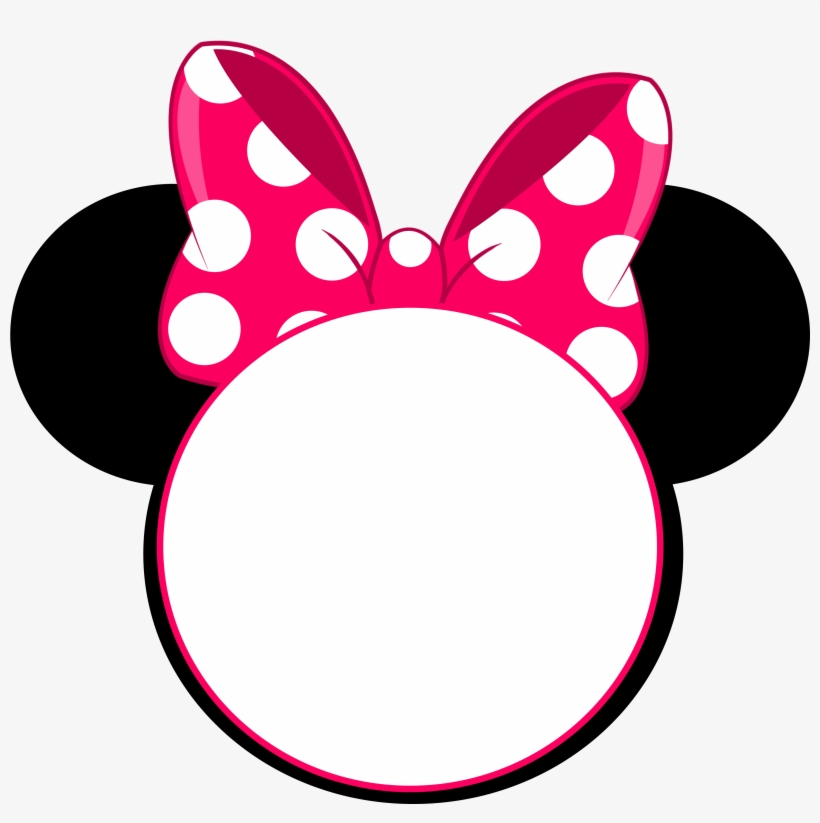 minnie mouse head png transparent png