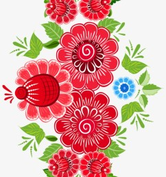royalty free download flower ornament art floral design mexican flowers clipart png [ 820 x 1479 Pixel ]
