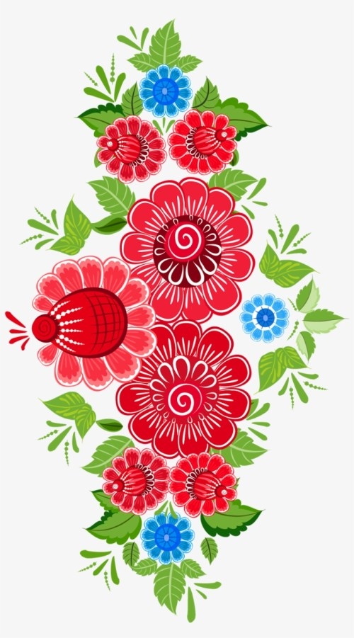 small resolution of royalty free download flower ornament art floral design mexican flowers clipart png