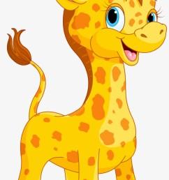 cute giraffe clipart [ 820 x 1543 Pixel ]