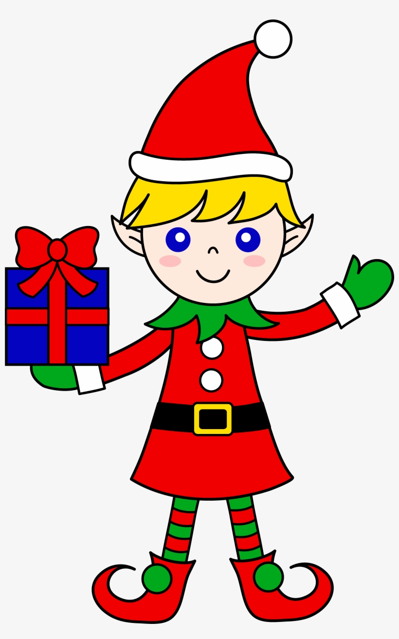 medium resolution of 28 collection of santa and elf clipart clip art