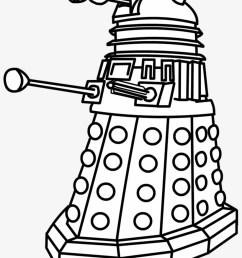 tardis banner free clip art huge doctor who dalek drawing [ 820 x 1080 Pixel ]